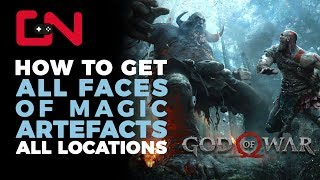 God of War Faces of Magic Artefacts Locations & Where to find them