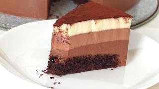 торт * ТРИ ШОКОЛАДА*.  cake * THREE CHOCOLATE *.