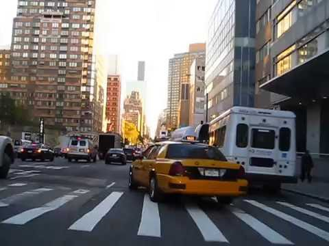 Cycling in New York : 1st Avenue