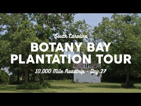 Botany Bay, South Carolina Plantation Tour | 10K Road Trip Vlog Day 27