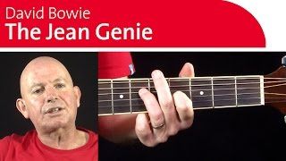 4 Classic David Bowie Guitar Riffs | The Jean Genie