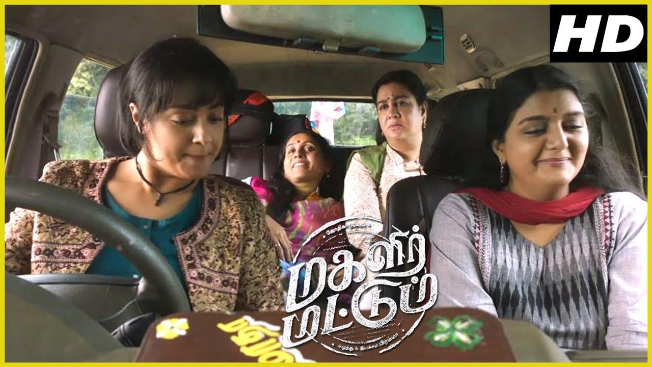 Saranya Ponvannan, Urvashi & Bhanupriya tells their first love story |  Magalir Mattum Scenes