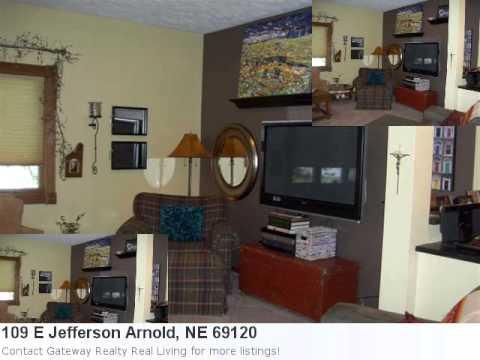 Introducing 109 E Jefferson. Arnold, Ne - This Beautiful 4 B