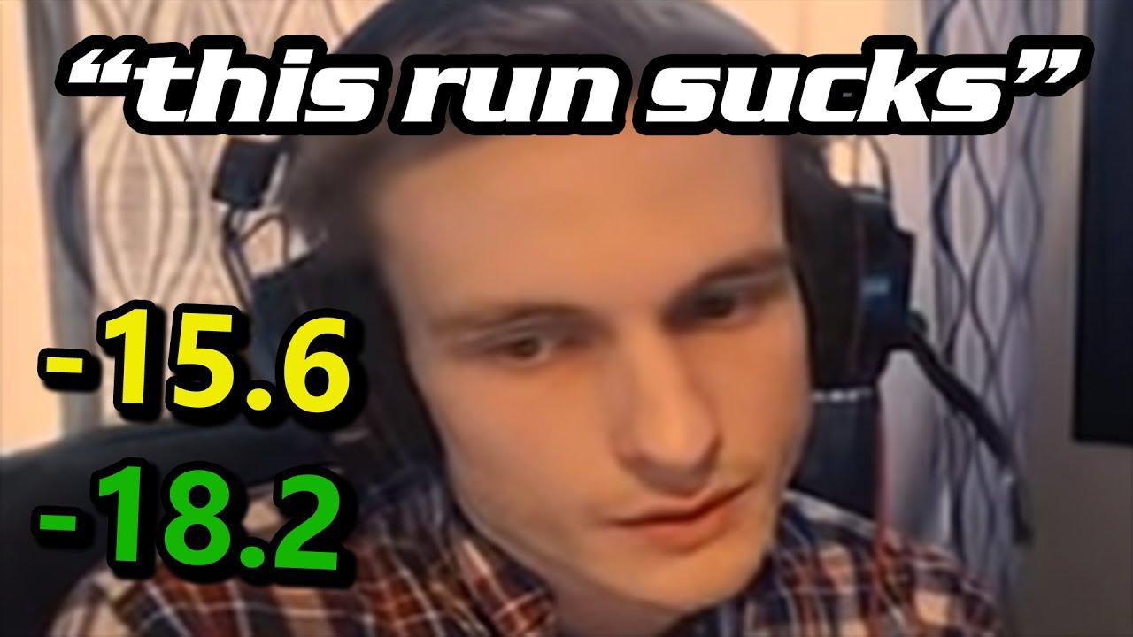 Why Do Speedrunners Hate Their Runs?