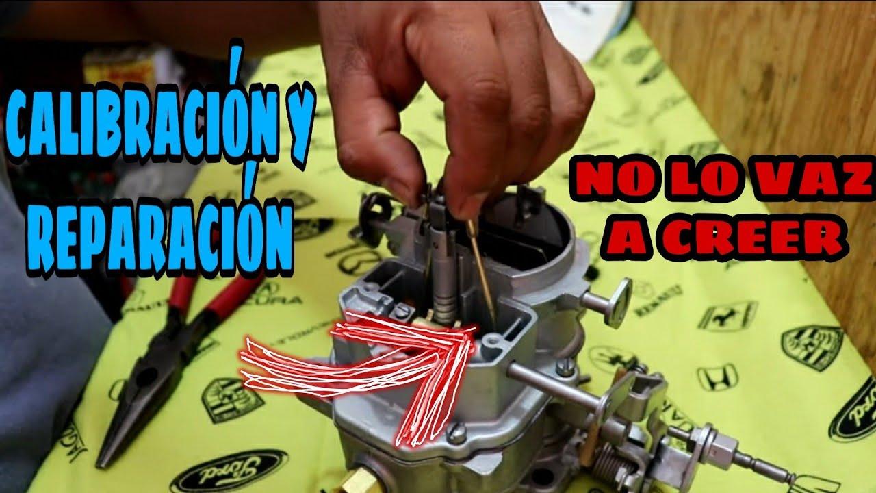 Carburador Carter Super Six 2 G Youtube