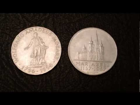 Beautiful Silver Austria Schilling Coins - Cheap Bullion!  Estate Sale Find