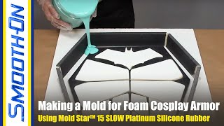 How To Make a Mold For Foam Cosplay Armor