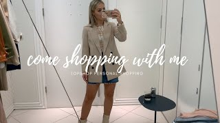 COME TOPSHOP PERSONAL SHOPPING WITH ME | AUTUMN STAPLES