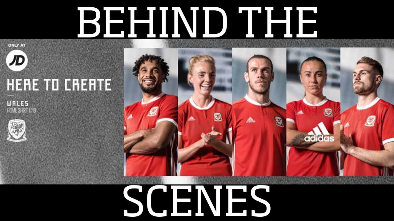 Behind The Scenes At Wales Kit Launch 2018