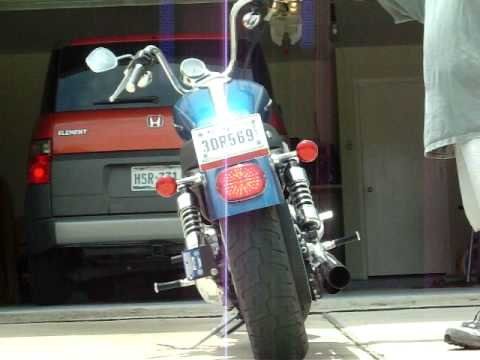 Led Brake And Turn Signals On A Sportster Youtube