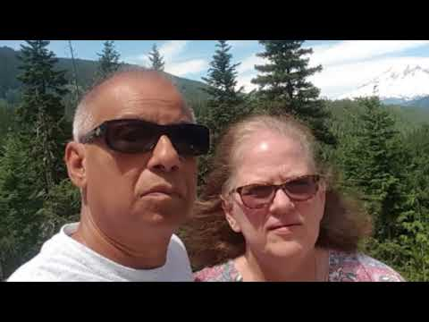 Washington State 2017 trip, Cascade Mountains to Pacific Ocean