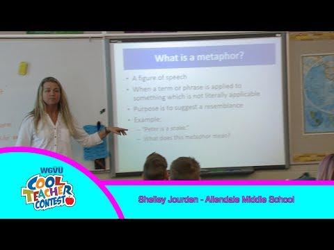 Cool Teacher Shelley Jourden, Allendale Middle School
