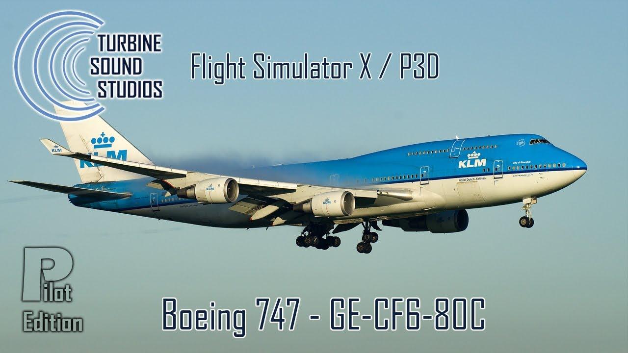 simMarket: TURBINE SOUND STUDIOS - BOEING 747 GE-CF6-80C