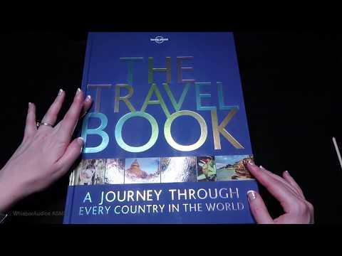 ASMR - The Travel Book - Afghanistan to Bosnia (Soft Spoken)