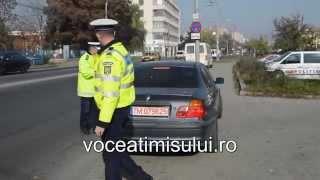 RAZIE a poliției rutiere, încheiată cu peste 300 de sancțiuni în câteva ore la Pasajul Jiu