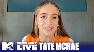 Tate McRae on 'Too Young to Be Sad' & Her Dancing Career (Extended Interview)   #MTVFreshOut