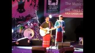 Raghu Dixit - Hey Bhagwan live at KalaGhoda Art Festival 2012