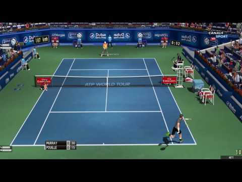 Murray - Pouille | Dubai 2017 | Tennis Elbow 2013
