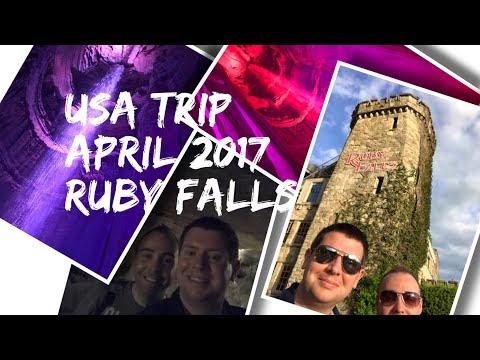 USA Vlog Series - Nashville/Dollywood - April 2017 - Exploring Ruby Falls, Chattanooga