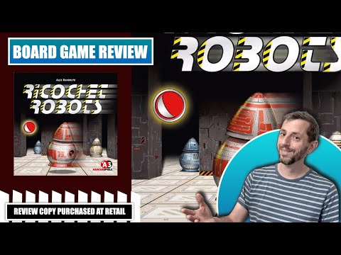 Europhile Reviews: Ricochet Robots board game