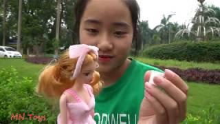 Trò Chơi Bóc Trứng Socola Trứng Khủng Long Bất Ngờ Đồ Chơi Búp Bê Trẻ Em Surprise Eggs Toys for Kids