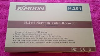 KKMoon 16 Channel H.264 CCTV DVR Unboxing + Demo - Network Video Recorder Model XF-9416NF-LM