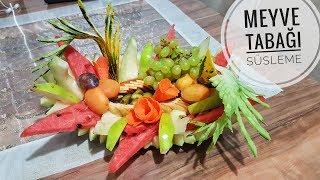 Meyve Tabağı Süsleme (Karpuz Çanağında) l Yemek Tarifleri