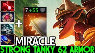 MIRACLE [Timbersaw] Strong Tanky 62 Armor Destroy Pub Game 7.25 Dota 2