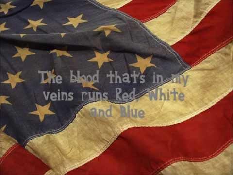 Red, White and Blue- Aaron Lewis Lyrics