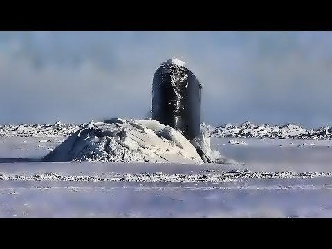 Royal Navy Sub Bobs Up & Down • Breaking Arctic Ice