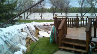 2011 Missouri River Flooding Bismarck, ND