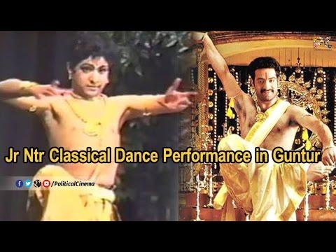 Jr Ntr Classical Dance Performance in Guntur