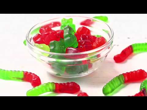 Keto Sugar-Free Gummy Bears And Worms