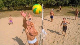волейбол на глубоком