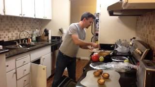 Sausage Stuff Brown Mushroom Appetizer