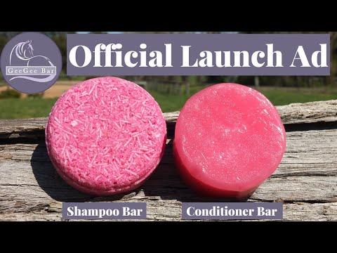 GeeGee Bar Launch Video | Horse Shampoo Bar | Equine Shampoo Bar | Equestrian Shampoo Bar