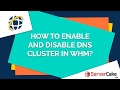 How to enable and disable DNS Cluster in WHM - ServerCake India