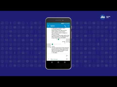 download Jio Tunes - How to Activate Jio Tune through SMS (Hindi) | Reliance Jio