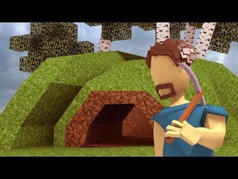 Minecraft   A WORLD WHERE THERE ARE NO MORE BLOCKS! (Realistic Mod)