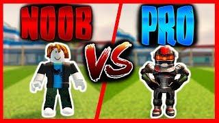 NOOB vs PRO en JAILBREAK - Roblox