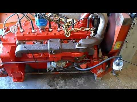 Continental Red Seal F227 or F226 engine - YouTube