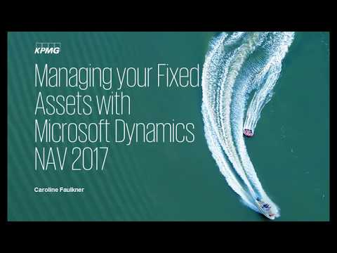 Managing your Fixed Assets with Microsoft Dynamics NAV 2017