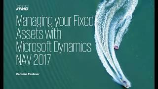 إدارة الأصول الثابتة الخاصة بك مع Microsoft Dynamics NAV 2017