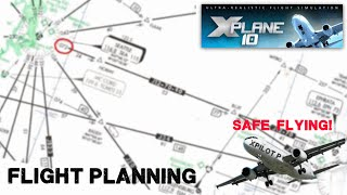 X-Plane 11: How to file a flight Plan