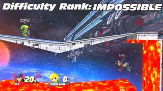 Who Can Pass The V-Hole Challenge? (Super Smash Bros. for Wii U)