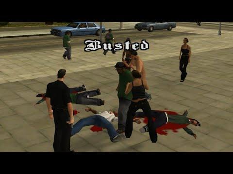 GTA San Andreas Busted #26 |