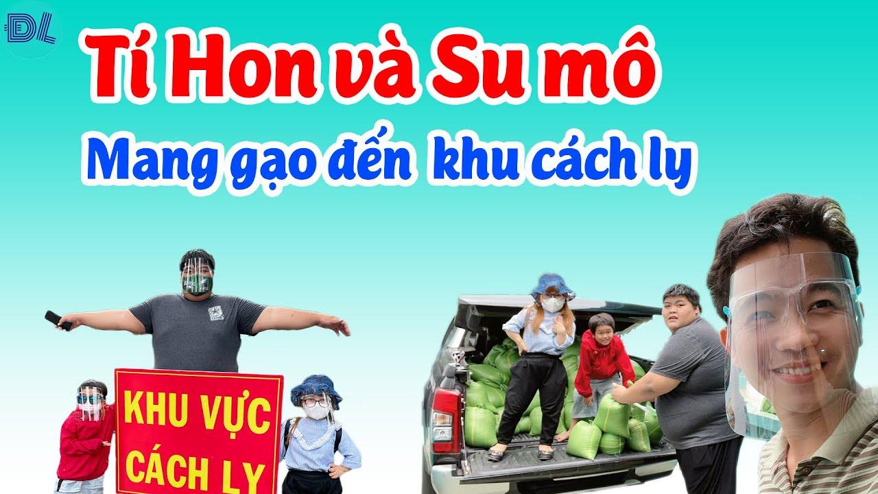 Huy Tí Hon nói hết nỗi lòng với Bình Sumo rồi cùng nhau đi phát gạo II ĐỘC LẠ BÌNH DƯƠNG