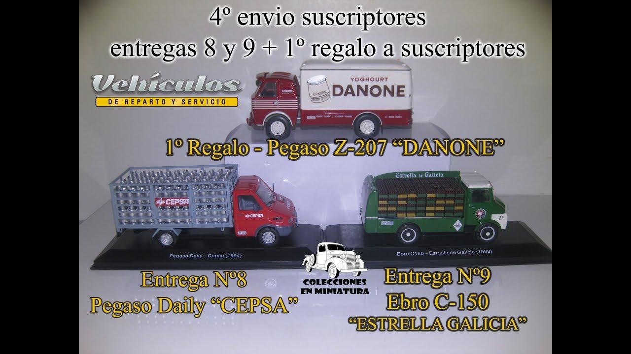 Abriendo El Envio Nº4 De Vehiculos De Reparto Y Servicio Salvat 1 43 Youtube