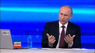 Путин - Решение о вводе российских войск в Украину.