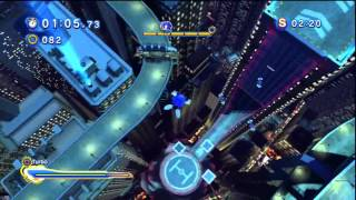 Sonic Generations - Speed Highway Acte 2 - Défi 3 : Course Alter Ego !